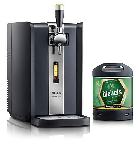 Bierzapfanlage PerfectDraft 6-Liter. Beinhaltet 1 x 6L Fass Diebels Alt Bier - Altbier. Inklusive 5 EUR MEHRWEG