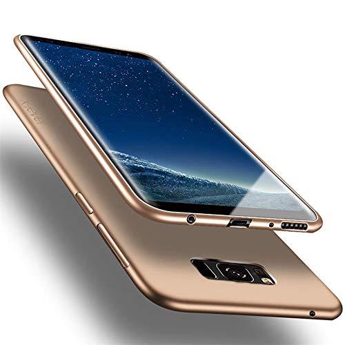 X-level Galaxy S8 Hülle, [Guardian Serie] Soft Flex Silikon Premium TPU Echtes Telefongefühl Handyhülle Schutzhülle für Samsung Galaxy S8 5,8 Zoll Case Cover (Gold)
