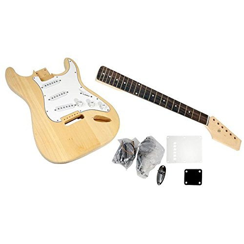 Unfinished Strat Electric Guitar Kits