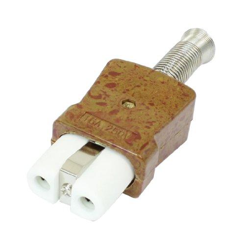 AC 250V 16A Federanschluss Heizung Hochtemperatur Keramik Stecker Anschluss DE de