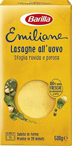 Barilla Pasta all' Uovo Le Emiliane Lasagne Classiche, 500g