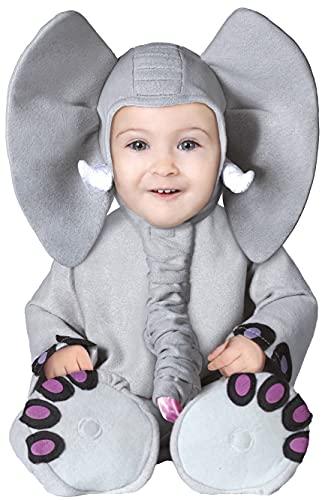 Guirca 81088 - Elefante per Neonato, Taglia 6-12 Mesi