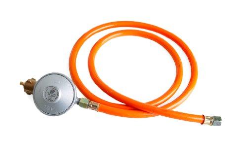 PaellaWorld 6601 Détendeur pour bonbonne de gaz avec Tuyau de raccordement