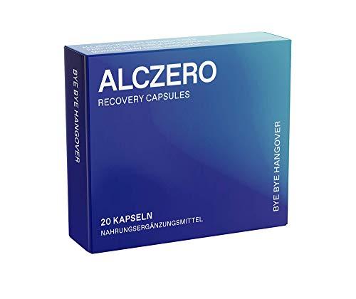 ALCZERO Recovery Capsules   hochdosierte natürliche Wirkstoffe und Vitamine   vegane Kapseln   hergestellt in Österreich (10 Anwendungen)