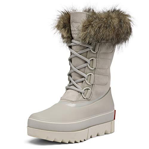 Sorel Women's Joan of Arctic Next Dove Mid-Calf Leather Snow Boot - 7 M