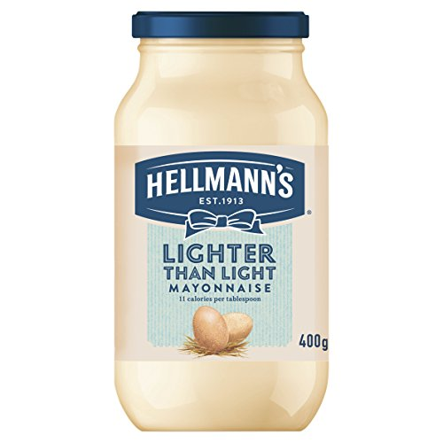 Hellmann's Lighter Than Light Mayonnaise 400g - extrem fett- und kalorienreduzierte Qualitäts-Mayonaise