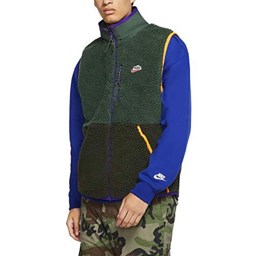 Nike Chaleco Sportswear Galactic Verde/Negro Hombre