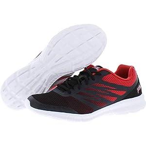 Fila Men's Memory Fantom 3 Running Shoes Black/Red/White 12