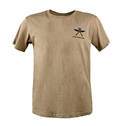 EXCELLENT ELITE SPANKER Männer Casual T-Shirt Vereinigtes Königreich Armee RGR T-Shirt(Kojote Braun-M)