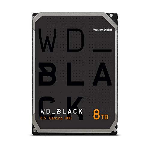 """Western Digital 8TB WD Black Performance Internal Hard Drive HDD - 7200 RPM, SATA 6 Gb/s, 256 MB Cache, 3.5"""" - WD8001FZBX"""