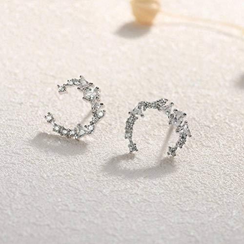 S925 Sterling Silver Stud Earrings Women