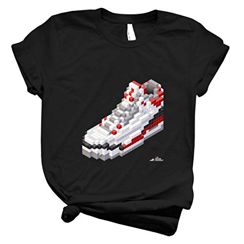 3D 8-Bit Basketball Shoe 3 - Mens T Shirts Graphic Vintage – Best Trendy Womens Customize for Kids Top