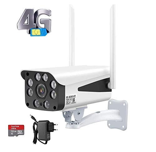 ITS Wireless Sim Card 4G Ip CCTV Security Camera