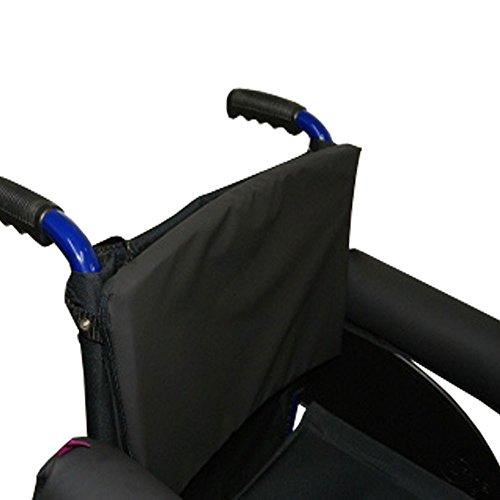 Protector/respaldo para silla de ruedas viscoelástico Saniluxe, Prevención de las escaras, Tacto suave, confort y comodidad, Alivio del dolor en la zona lumbar y reducción de la presión 🔥