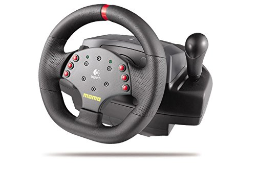 Logitech 3 MOMO Force Feedback Racing Wheel
