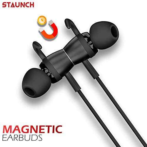 Staunch Flex 200 in Ear Bluetooth Wireless Neckband Powerful Bass, IPX4 Sweat-Resistant, Up to 7Hrs Playback With 120 Hours Standby