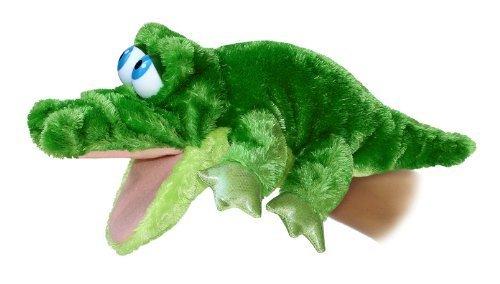 Aurora 32180 14' Grator The Alligator Body Plush Puppet, Multicolor