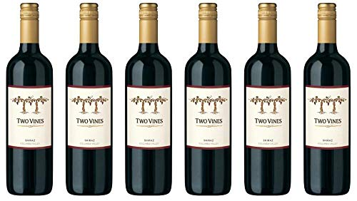 6x Two Vines Shiraz 2015 - Weingut Columbia Crest, Washington - Rotwein
