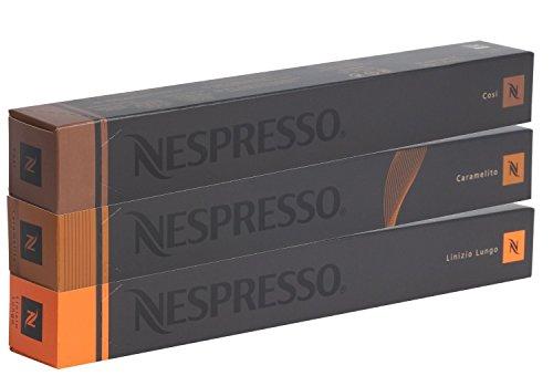 30 Nespresso Kapseln - Special Set - Cosi Caramelito Linizio