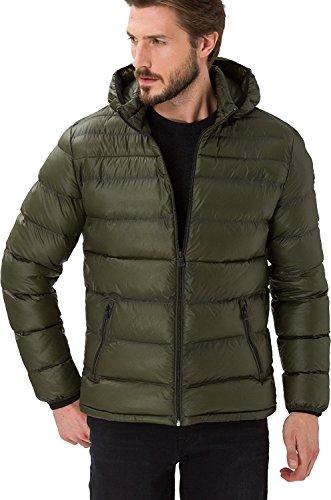 BRAX Herren Style Dickson Jacke, Olive, XX-Large (Herstellergröße: 56)