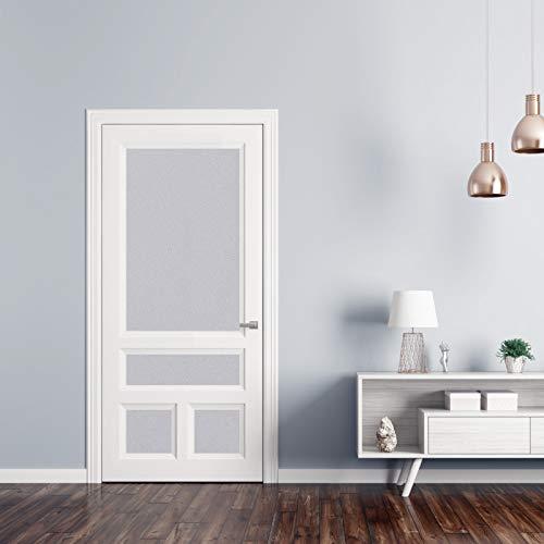 KINLO Türaufkleber klebefolie Küchefolie Grau 60x500cm MIT GLITZER möbelfolie aus hochwertigem PVC Aufkleber für Schrank Tapeten wasserfest selbstklebende Folie Küchenschrank Dekofolie