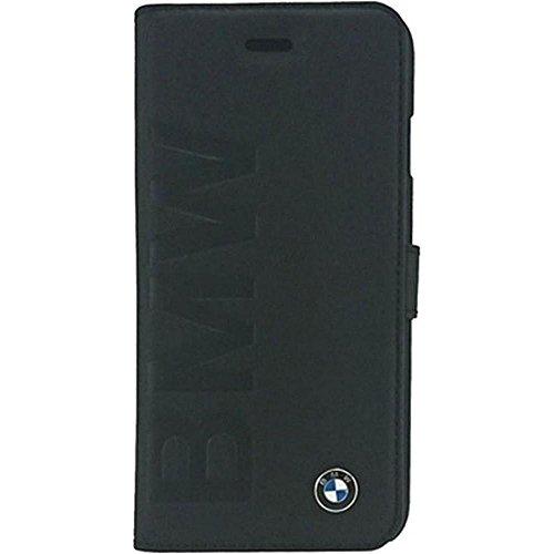 BMW Signature Collection Book Case Debossed Logo for iPhone 6 Plus/6S Plus - Black