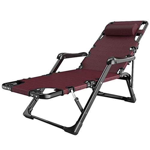 Ligstoelen Ligstoelen Zero Gravity Chairs Verstelbare verstelbare tuinstoel Opvouwbaar voor tuin Zwembad met wattenschijf Lagergewicht