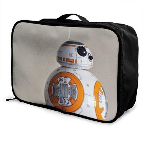 BB 8 viaje Lage bolsa de lona ligera maleta portátil bolsas para mujeres hombres niños impermeable gran capacidad bapa