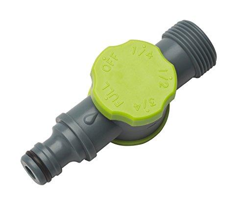 REHAU Durchflussminderer für Perlschlauch/Tropfschlauch, stufenweise einstellbar