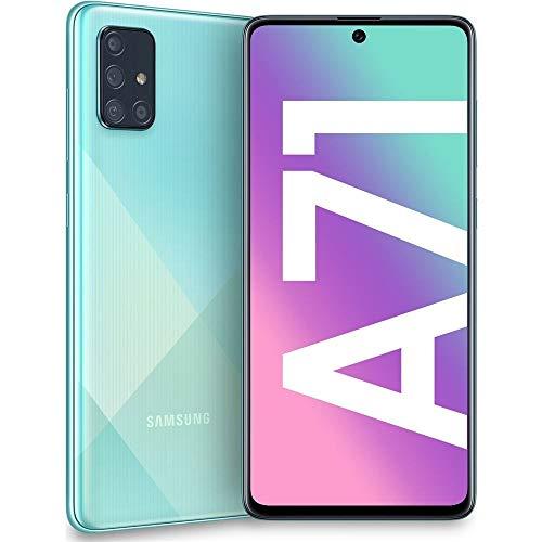 Samsung Galaxy A71 - Handy, 128GB, Dual SIM, Prism Crush Blue