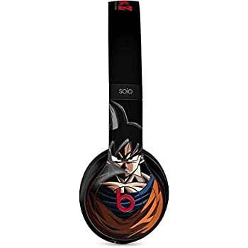 Skinit Decal Audio Skin for Beats Solo 3 Wireless - Officially Licensed Dragon Ball Z Goku Portrait Design