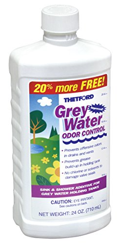 Grey Water Odor Control - RV Grey Water Tank Treatment, 24 oz - Thetford 15842
