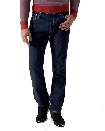 Bugatti Herren Jeans Hose Straight Leg Regular Fit Denim Blau (Art.-Nr.: 3280D-16640-390) (W38/L34)