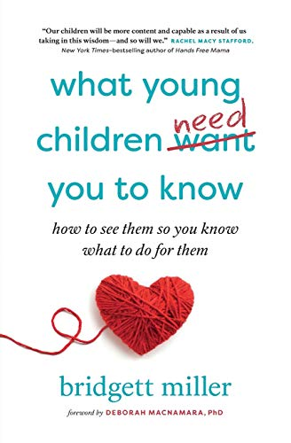 What Young Children Need You to Know: How to see them so you know what to do for them