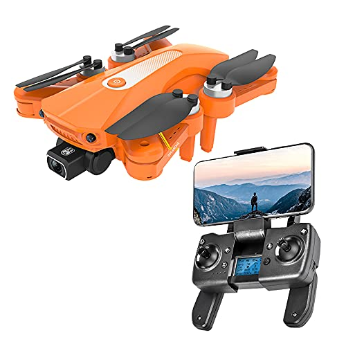 WIJIN K80 PRO GPS Drone with Camera for Adults 4K/8K UHD FPV, Quadcotper with Auto Return Home, Follow Me, Way-Points Functions, Includes 2/3 Batteries and Carrying Backpack