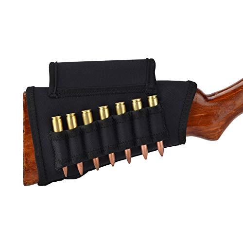 Pridefend Neoprene Gun Stock Cover Cheek Rest Riser for Shotgun Rifle Hi-Density Foam Inserts