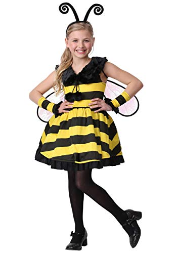 Girl's Deluxe Bumble Bee Costume Large
