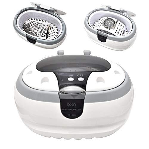 PLATA 超音波洗浄機 超音波洗浄器 超音波クリーナー ソニックウェーブ 卓上型 メガネ洗浄器 洗浄ホルダー付き 印鑑 腕時計 入れ歯 アクセサリー 眼鏡 めがね 眼鏡用洗浄機 入れ歯洗浄器