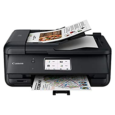 Canon TR8620 All-In-One Printer For Home Office | Copier |Scanner| Fax |Auto Document Feeder | Photo and Document…