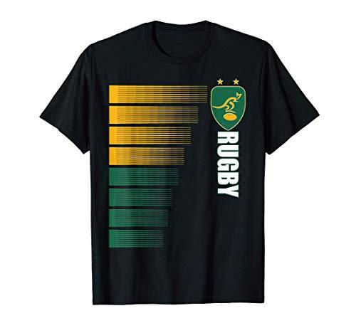Australien Rugby-Trikot Australier Rugby 2-seitige T-Shirt