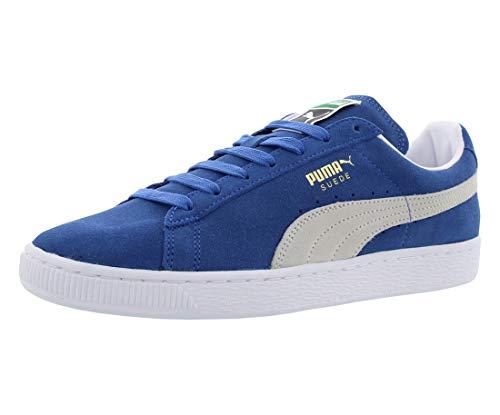 PUMA Herren Suede Classic+ Sneaker, Olympisches Blau/Weiß, 40 EU