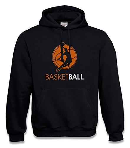 KNOW-MORE-STYLEZ Hooded Sweatshirt Basketball Dunking Kapuzenpulli Pulli Hoodie Hoody (3XL)