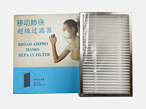 BROAD AirPro Mask HEPA Filter (1-pack)