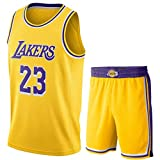 N&G SPORTS Lebron James, Basketballtrikot, Lakers, Sporttrikots, atmungsaktive, schnell trocknende Weste -