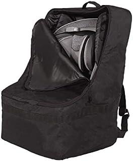 J.L. Childress Ultimate Backpack Padded Car Seat Travel Bag - Durable, Secure, Universal Airport Bag, Black