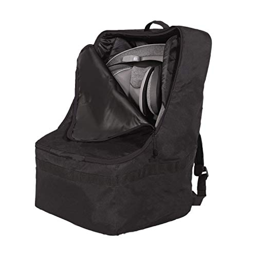 Product Image of the J.L. Childress Ultimate Backpack Padded Car Seat Travel Bag, Black