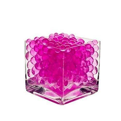 Perlas de agua Aqua Bio Gel bolas de cristal del suelo Jarrón Decoración de la boda y artes & artesanías por Trimming Shop, silicona, Pack of 5000, rosa intenso