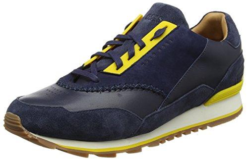 BOSS Orange Herren Zephir Runn ltdc Sneaker, Blau (Dark Blue 401), 45 EU