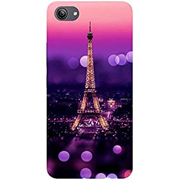 Om Unique Print 3D Printed Hard Back Case Cover for Vivo Y81i (Vivo 1812). (Ifill Tower)(Pink)