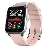 IDEALROYAL Smartwatch, Reloj Inteligente Impermeable con Monitor de Frecuencia Cardíaca,...
